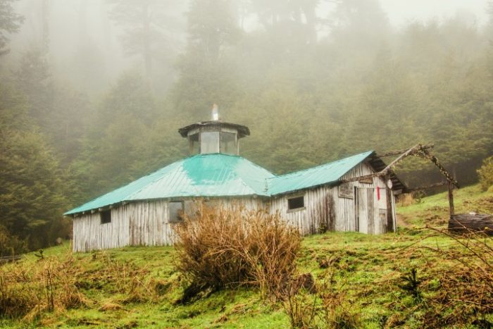 BarfussUmDieWelt-JonathanvonRosenberg-KataleyavonRosenberg-Unbeschwerte-Schritt-Chile-Villarrica-Cani-Nationalpark-Refugio-Regen-barfuß