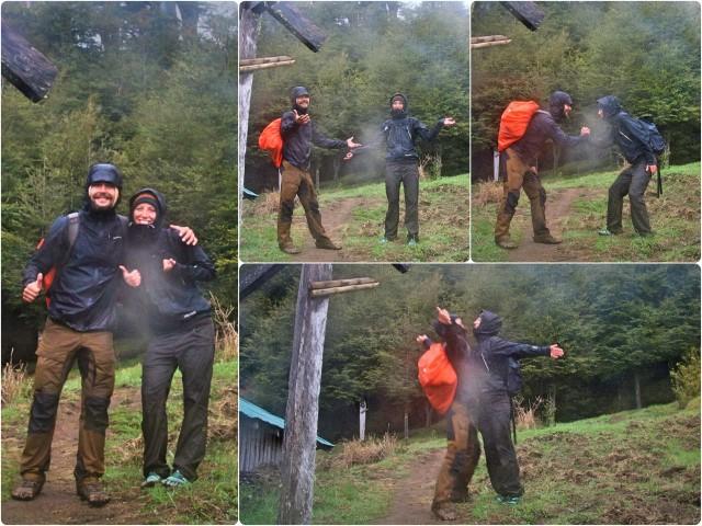 BarfussUmDieWelt-JonathanvonRosenberg-Verantwortliche-Schritt-Chile-Villarrica-Cani-Nationalpark-Wanderung-Regen-Ankunft-barfuß